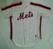VINTAGE RARE RAWLINGS MADE IN USA NY METS AUTHENTIC BASEBALL JERSEY SIZE 42