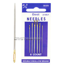 6pcs Gold Eye Large Needles Embroidery Tapestry Hand Sewing Needle