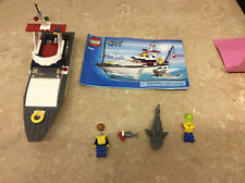 Lego City Fishing Boat 4642 Incomplete Set! See Pics!