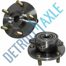 Pair (2) NEW Front Wheel Hub & Bearing Assembly Sebring Avenger Stratus Eclipse