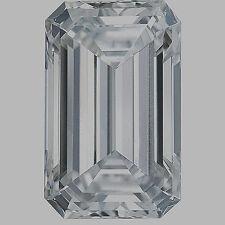 GIA certified 1 carat Emerald Cut Diamond E color SI1 clarity Ideal loose