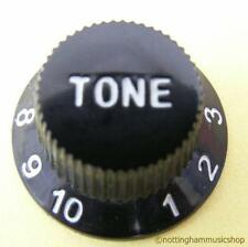 BLACK ELECTRIC GUITAR TONE CONTROL KNOB NEW ST CHEAP