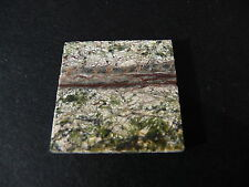 1 Vera LUCIDO scuro VEINED GREEN MARBLE Dolls House Floor TILE * Stock Limitato *