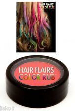 Hair Flairs Color Rub, Temporary Vibrant Fun Hair Colors   .14 oz. (red) LMS