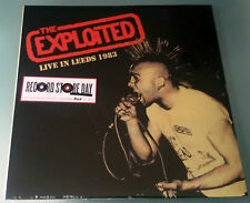 LP The Exploited live a Leeds 1983 -Red splatter VINILE-RSD 2016 Copia 027/300