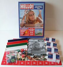 HELLO! BOARD GAME - THE ULTIMATE CELEBRITY QUIZ GAME