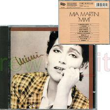 """MIA MARTINI """"MIMI'"""" RARO CD PRIMA EDIZIONE STAMPA ITALIANA"""