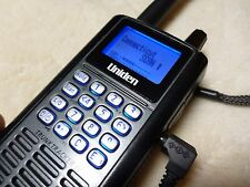 UNIDEN BCD396T HANDHELD TRUNKTRACKER IV SCANNER and AC ADAPTER - WORKING !