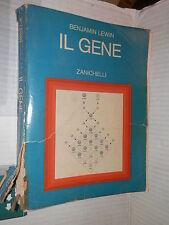 IL GENE Benjamin Lewin Zanichelli 1990 libro saggistica scienza tecnica di