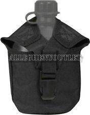 CANTEEN COVER 1QT MOLLE COMPATIBLE 1 QUART BLACK ROTHCO 40111 NEW