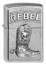 Zippo Briquet Cowboy Boots w. skull rebel M. emblème collection 2013 OVP NOUVEAU