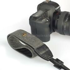 Camera Shoulder Neck Vintage Strap Belt for Sony Nikon Canon Pentax DSLR Black
