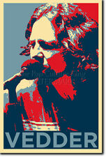 EDDIE VEDDER ART PHOTO PRINT (OBAMA HOPE) POSTER GIFT