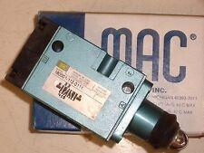 MAC 180001-112-0111 CAM ACTUATED AIR VALVE , (A7L)