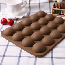 Half Ball Silicone Chocolate Mould Fondant Cake Candy Decor Baking Tools