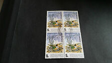 SINGAPORE 1969 SG 121 150TH ANNIV OF FOUNDING BLOCK OF FOUR USED