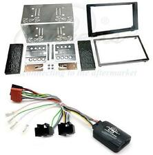 Connects2 Saab 93 9-3 08 on Double Din Fitting Kit with Stalk Steering Adaptor