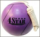 TETHER BALL NEW PURPLE COLOR ROPE INCLUDED OUT DOOR SPORTS PICNIC PLAYGROUND