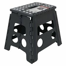 "13""  33CM Step Stool Portable Plastic Folding Foldable Chair Store Flat Outdoor"