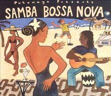 Putumayo Presents: Samba Bossa Nova (CD, Jan-2002, Putumayo)(cd5238)