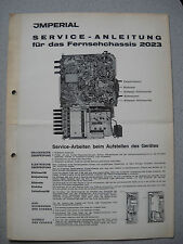 Imperial S/W TV chassis 2023 service manual