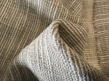 Mark Alexander Reversible Linen Weave Fabric- Crosshatch Natural 4.30 yd M437/04
