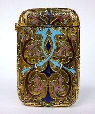 Boîte d'allumettes France À 1890 Émail