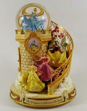 Snowglobe Escalier Musical Princesses Disney