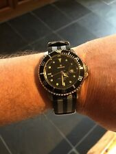 Gents Divers Watch - Bond Homage - NATO strap With Spare Rubber Strap