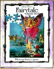 SHIRLEY BARBER'S ~ FAIRYTALE JIGSAW BOOK ~ 7 x 48 Pc PUZZLES ~ BEAUTIFULLY ILLUS