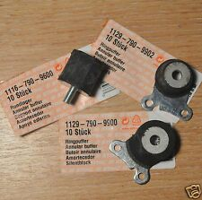Genuine Stihl MS200T 020T A V Mount  AV Rubbers Annular Buffer Set 3 Tracked