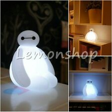 New Color Changing Big Hero 6 Baymax USB LED Table Desk Lamp Light Children Gift