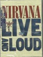 DVD NIRVANA LIVE AND LOUD + EXTRAS SEALED NEW 2013