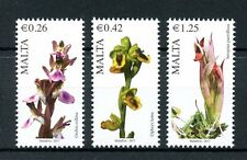 Malta 2017 MNH Maltese Flora Series IV 3v Set Orchids Flowers Stamps