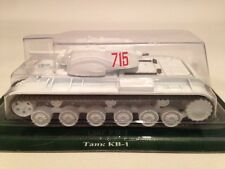 FABBRI RUSSIAN TANKS COLLECTION Soviet KV-1 Battle Tank 1:72 Scale New