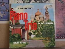 TCHAIKOVSKY PIANO TRIO IN A MINOR, SUK TRIO - LP 50485
