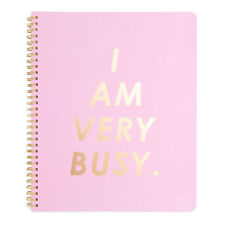 Ban.do Bando - Rough Draft Notebook - I Am Very Busy - Carnation - 160 pg