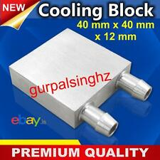 CPU 40 x 40 mm Waterblock Cooler Aluminium Water Cooling Heatsink Liquid GPU SR