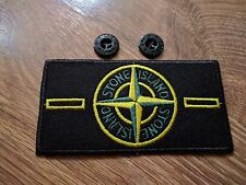 NEW MODEL Stone Island Badge with 2 buttons