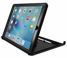 """OtterBox Defender Series Case w/ Stand for iPad Pro 9.7"""" - Black / Black NEW"""