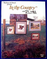 Western Cross Stitch Picture Pattern Leaflet Country House Kettle Boots Barn