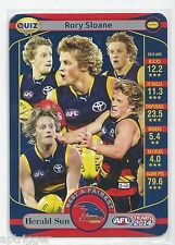 2014 Teamcoach Herald Sun Quiz (01) Rory SLOANE (Who won the very first...)