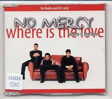 No Mercy Maxi-CD Where Is The Love - 5-track promo CD - frank farian