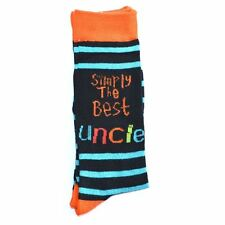 Uncles Birthday Gifts Simply The Best Socks Polyester Adult Size Christmas Gifts