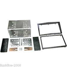 CT23VX18 VAUXHALL ASTRA 2004 to 2010 PIANO BLACK DOUBLE DIN FACIA ADAPTER KIT