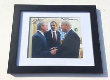 PSA/DNA Presidents BARACK OBAMA & BILL CLINTON Signed Autographed FRAMED Photo