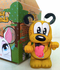 """DISNEY VINYLMATION 3"""" FURRY FRIENDS SERIES PLUTO DOG 2012 COLLECTIBLE TOY FIGURE"""