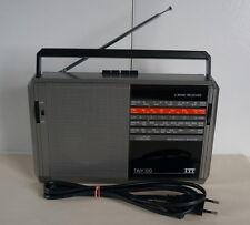 ITT TINY 320 Rarität Radio 4 Band Receiver Koffer Transistorradio
