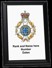 Personalised Wall Plaque - Royal Army Chaplains' Department (Christian), RAChD