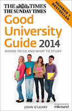 O'Leary, John The Times Good University Guide 2014 Very Good Book